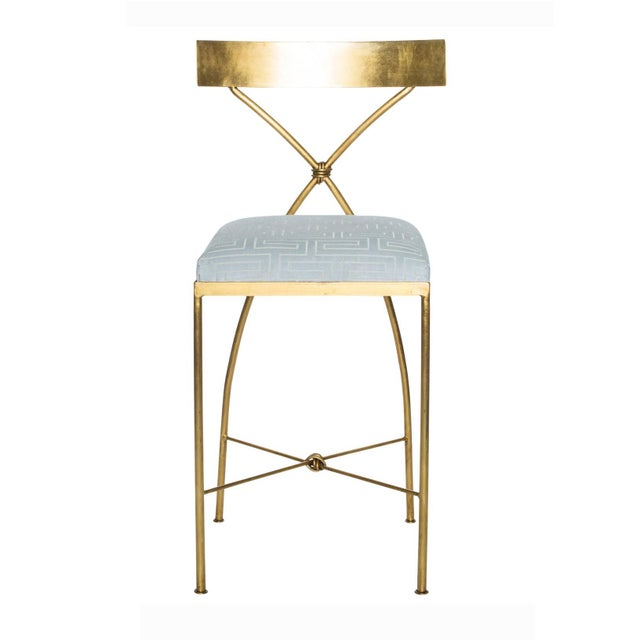 Rivers Spencer Collection Rivers Spencer Ivey Counter Stool For Sale - Image 4 of 4
