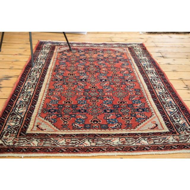 "Islamic Vintage Engelas Rug - 3'6"" X 4'11"" For Sale - Image 3 of 9"