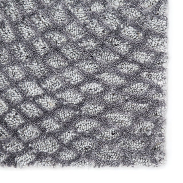 Contemporary Pollack by Jaipur Living Impresario Handmade Medallion Silver/ Gray Area Rug - 9′ × 12′ For Sale - Image 3 of 5