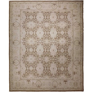 Agra Design Hand-Knotted Luxury Rug - 8′ × 9′9″ For Sale