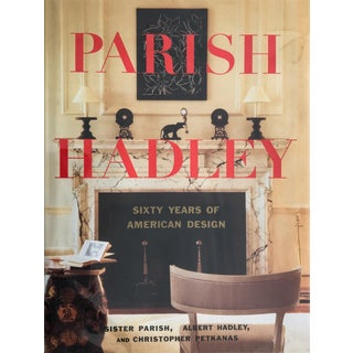 1995 Vintage Parish Hadley, Sixty Years of American Design Book For Sale