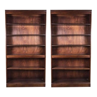 Hickory Chair Furniture Company Bookcases - a Pair -- Final Markdown