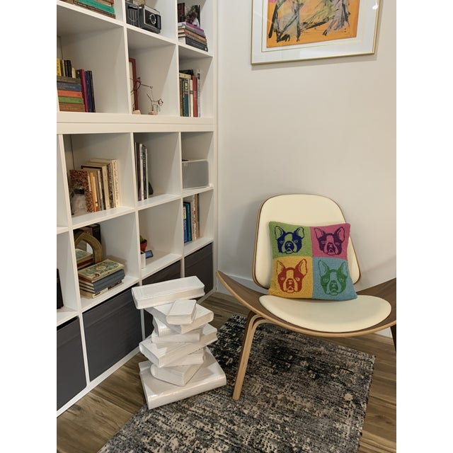 1990s Tromp L'oeil Side Table For Sale - Image 12 of 13
