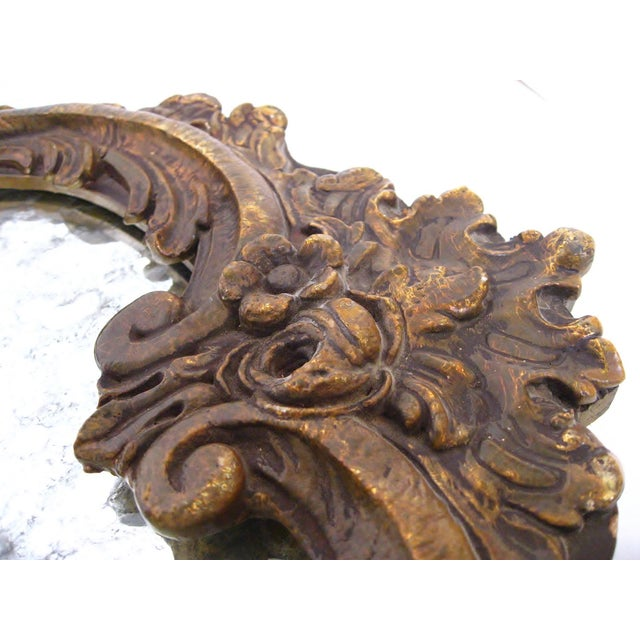 Baroque-Style Wood Mirrors - A Pair - Image 6 of 11