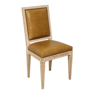 Custom Dining Chair in the Louis XVI Manner For Sale