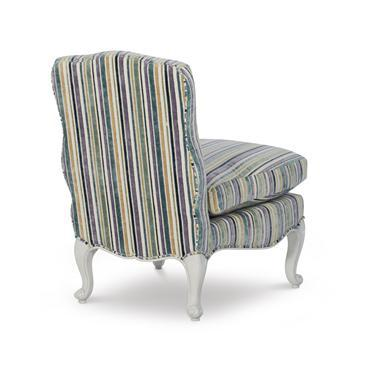 Traditional Highland House Maggie Slipper Chair For Sale - Image 3 of 4