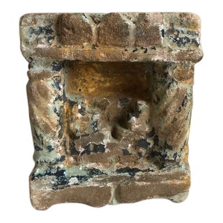 Antique Chinese Carved Stone Architectural Building Fragment For Sale