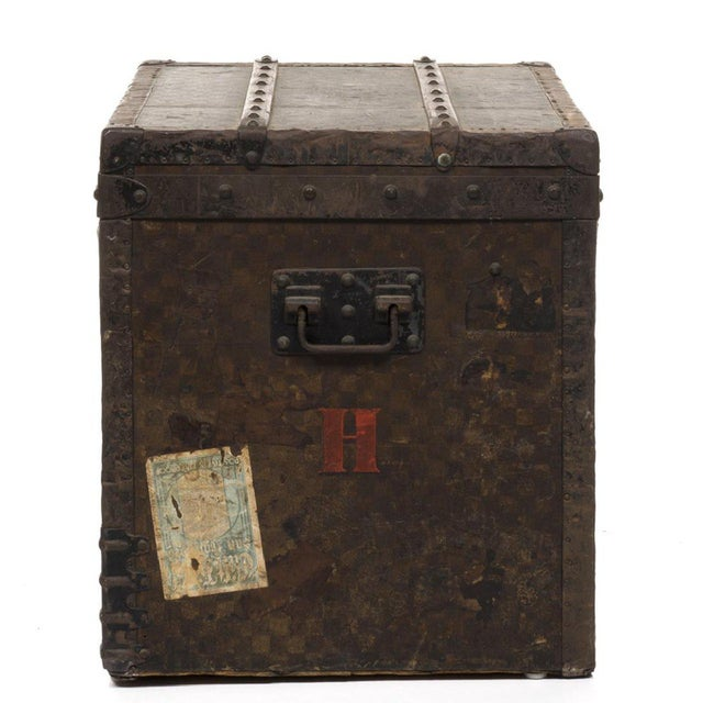 Louis Vuitton 1890 Damier Steamer Trunk - Image 3 of 7
