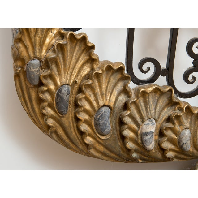 Antique Marble Fireplace Screen - Image 4 of 8