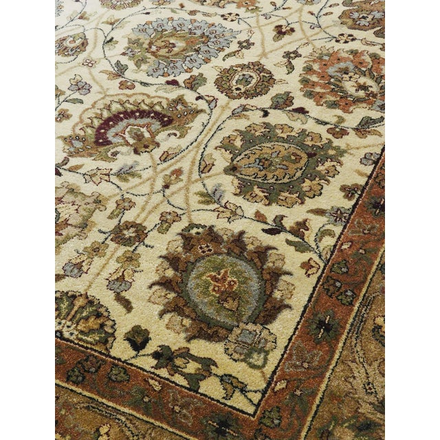 """Persian Rug Los Angeles: Hand-Knotted Indo-Persian Rug- 5'10""""x 8'8"""""""