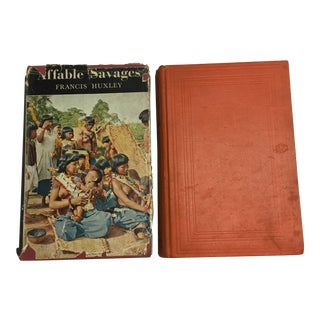 Vintage Travel and Anthropology Books - a Pair For Sale