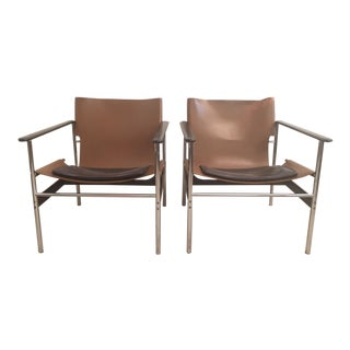 """""""Sling Chair"""" by Charles Pollack for Knoll - Pair For Sale"""