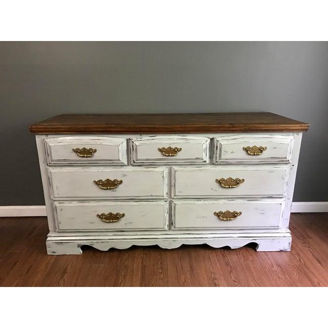 Vintage Distressed Dresser - Image 10 of 11