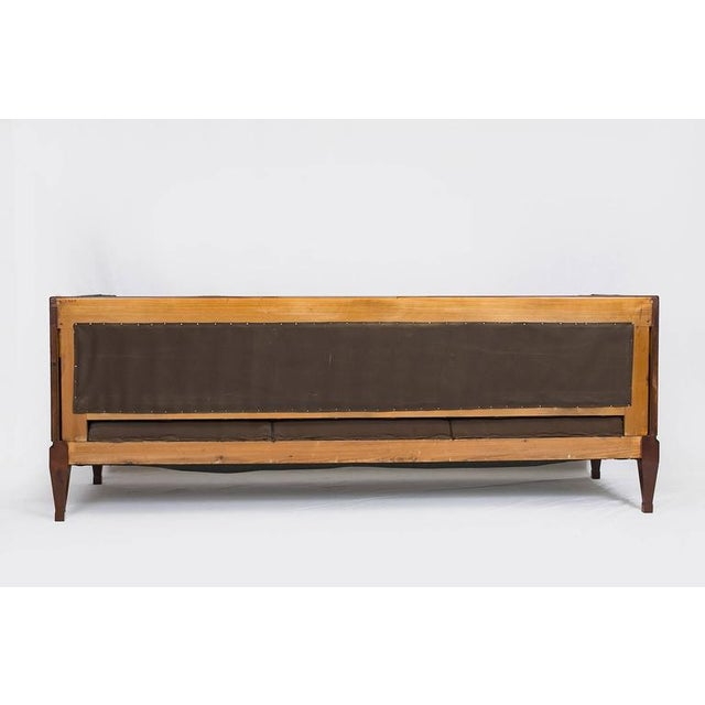 Fabric Frits Henningsen Sofa For Sale - Image 7 of 9