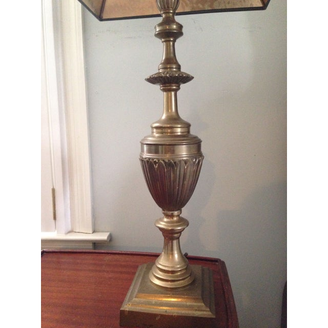 Brass Trophy Lamps - A Pair - Image 4 of 9
