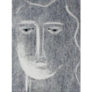 "Rob Delamater ""Moon Iii"" Monotype Portrait, 2014 2014 For Sale"
