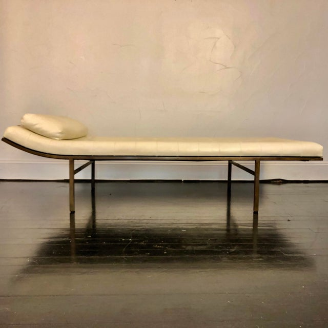 1970s Jules Heumann Chaise Lounge for Metropolitan For Sale - Image 10 of 11