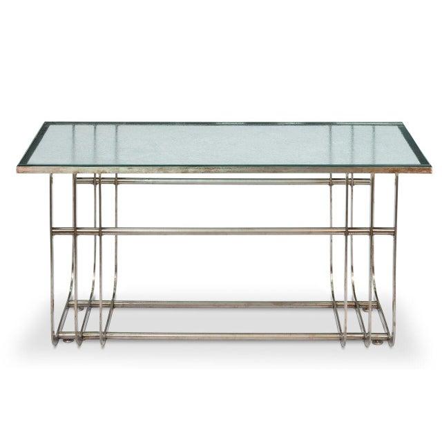 Sarreid LTD Donald Deskey Style Table - Image 5 of 9