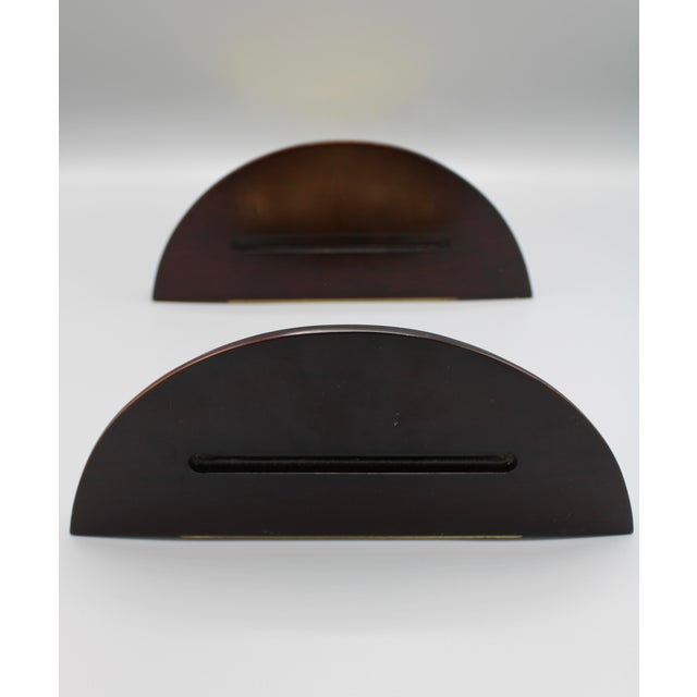 Metal Coastal Wood and Brass Clam Shell Wall Shelves - a Pair For Sale - Image 7 of 13