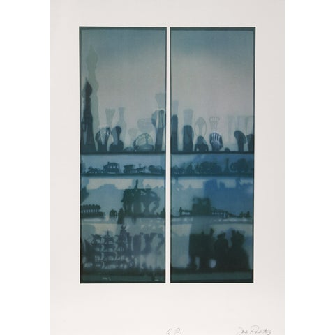 "Image of ""Window Shade"" Lithograph by Jack Radetsky"