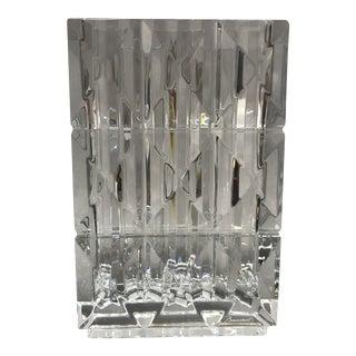 Modern Baccarat's Luxurious Louxor Crystal Vase