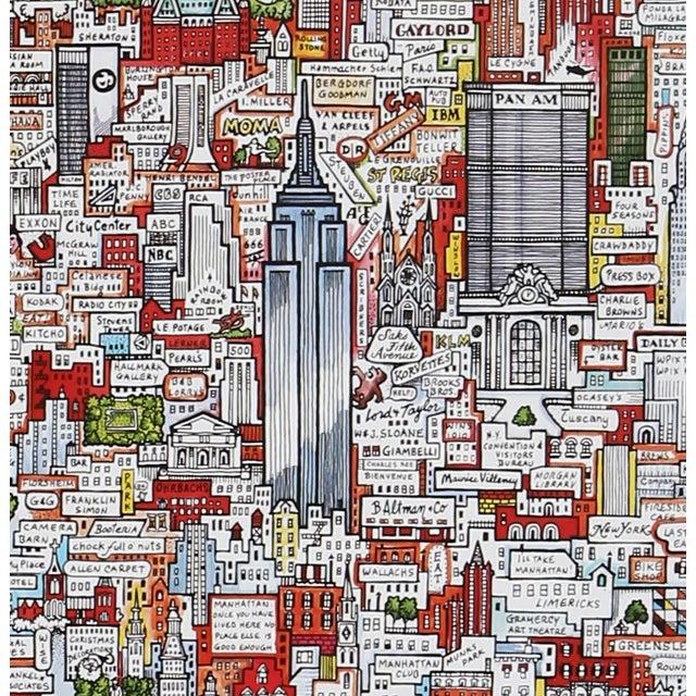 "Tony Graham, ""Manhattan!!,"" Poster - Image 2 of 2"