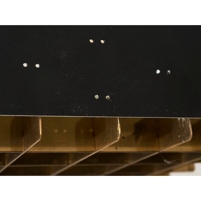 Gold Paavo Tynell Model # 9068 Ceiling Lamp in Black, Finland, 1960s For Sale - Image 8 of 11