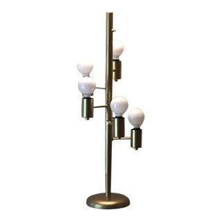 Mid-Century Modern Atomic 5-Globe Clover Table Lamp