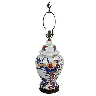 Knob Creek Porcelain Ginger Jar Lamp