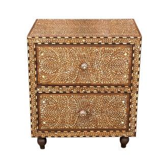 Titli Inlaid Bedside Dresser For Sale