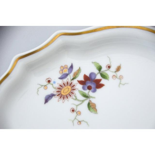 Richard Ginori Richard Ginori Oriente Italian Porcelain Relish Dish For Sale - Image 4 of 8