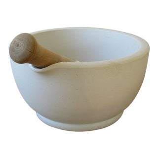 Antique Thomas Maddocks & Sons Mortar & Pestle For Sale