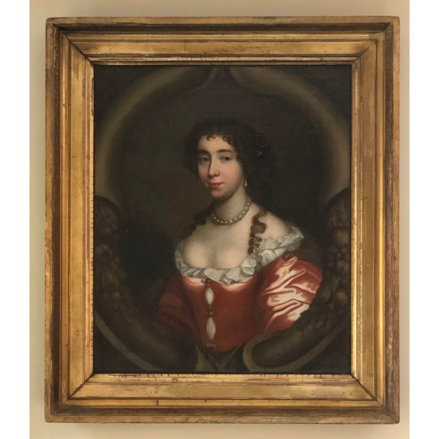 17th Century Oil on Canvas Painting For Sale - Image 13 of 13