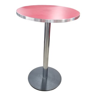 1950's Diner Hightop Table For Sale