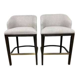 Hooker Furniture Curata Barstools- a Pair For Sale