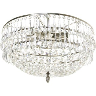 Modern Crystal Icicles Chandelier For Sale