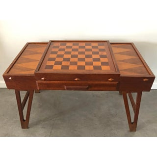 Mid Century Danish Modern Teak Game Table Preview