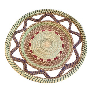 Hand-Made Woven Wedding Basket For Sale