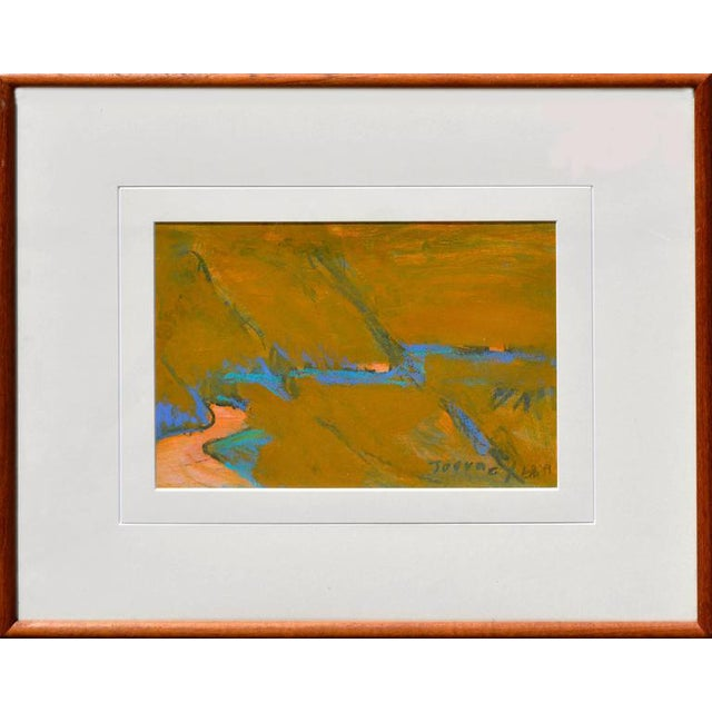 'Journey' Abstract Framed Painting For Sale