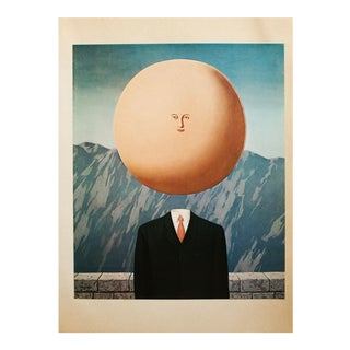 "1972 Rene Magritte, ""The Art of Living"" Original Photogravure For Sale"