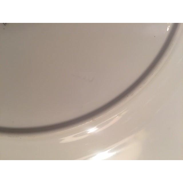 Royal Worcester Porcelain Dinner Plates - Set of 12 For Sale In Los Angeles - Image 6 of 12