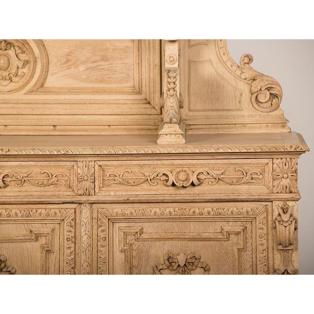Lovely Antique French Henri II Style Carved, Weathered Oak Hunt ...