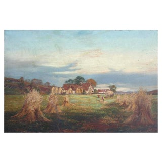 The Ingathering by J. Morison, 1880 For Sale