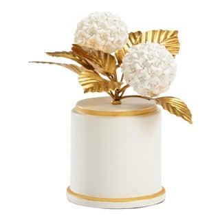 Chelsea House White Porcelian Hydragenia Study For Sale