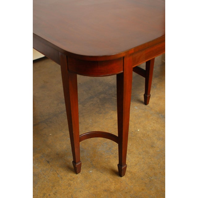 Hepplewhite Federal Double Leg Dining Table - Image 7 of 7
