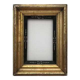 1880s Gold and Ebonized Eastlake Frame For Sale