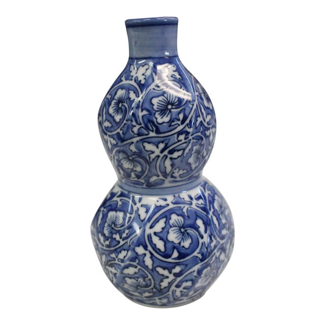 Chinese Cobalt Bud Vase For Sale