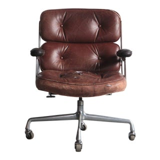 1960s Mid-Century Modern Eames Time-Life Executive Office Chair For Sale