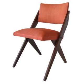José Zanine Caldas Tesoura Side Chair Brazilian Mid Century Modern For Sale