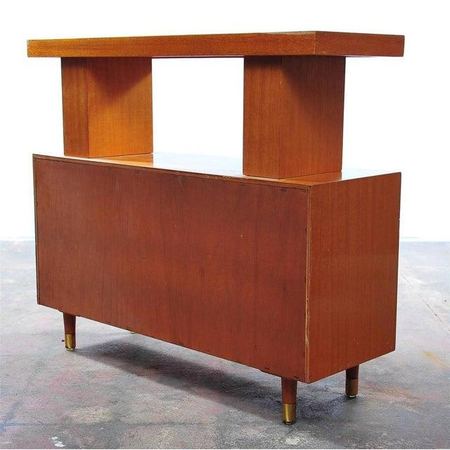 Mid-Century Danish 1950s Compact Sideboard - Image 9 of 11